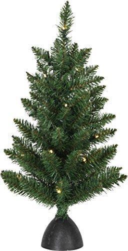 Star LED-Tannenbaum Tippy, ca. 60 cm, Plastik, grün, 3.5 x 3.5 x 6 cm - 1