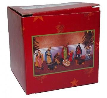 Timtina® Krippenfiguren 10 teilig aus Steinharz - 2