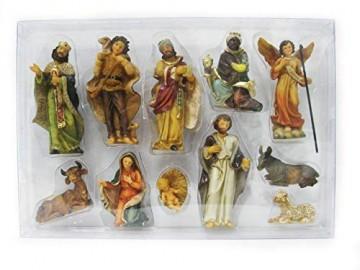 Unbekannt Krippenfiguren 11-teilig H.:bis 10cm in Plastikbox (0940720) - 1