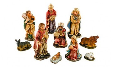 VBS 10 Krippenfiguren-Set Weihnachten Krippe Figuren - 1