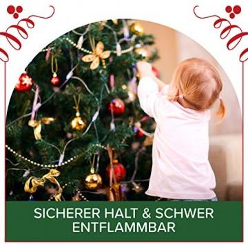 Weihnachtsbaum künstlich 180 cm – Edle Nordmanntanne mit Weihnachtsbaumständer – Künstlicher Premium Tannenbaum mit besonders dichten Zweigen – Exklusives Markenprodukt - Naturgetreu, Made in EU - 6