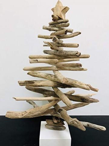 Weihnachtsbaum/Tannenbaum aus Treibholz - 1