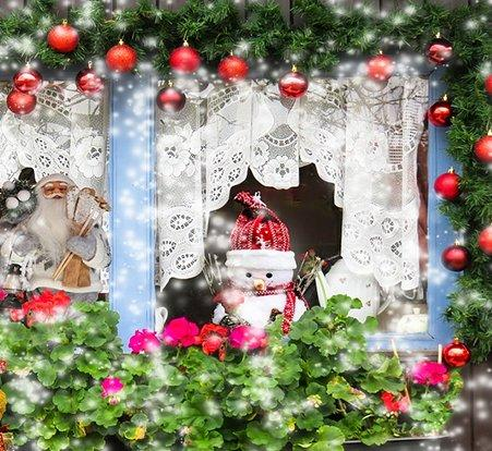 weihnachtsdekofenster
