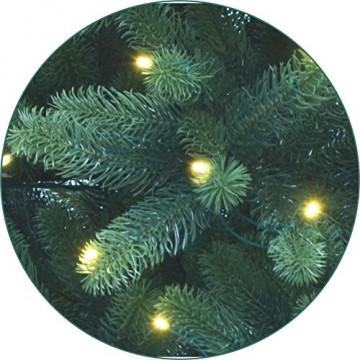Xenotec PE- Weihnachtsbaum künstlich ca. 150 cm hoch mit 166 LED- warmweißes Licht- Das Original - 6