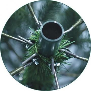 Xenotec PE- Weihnachtsbaum künstlich ca. 150 cm hoch mit 166 LED- warmweißes Licht- Das Original - 7