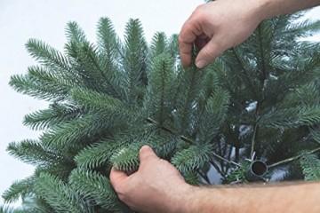 Xenotec Voll PE Weihnachtsbaum künstlich Höhe ca. 120 cm naturgetreu im Spritzgussverfahren Hergestellt - 3