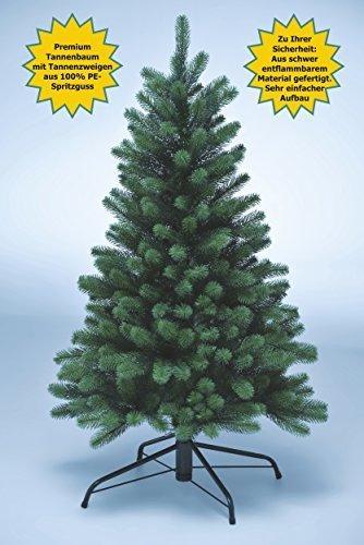 Xenotec Voll PE Weihnachtsbaum künstlich Höhe ca. 120 cm naturgetreu im Spritzgussverfahren Hergestellt - 5