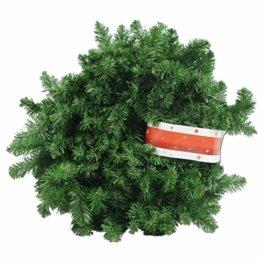 XXL Tannengirlande aus Kunststoff / elastische Tannenzweiggirlande 540 cm / Adventsdekoration für innen und außen / Weihnachtsgirlande zum Dekorieren und Schmücken - 1