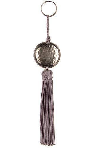 4er Set Orientalische Schlüsselanhänger 18cm (2)   Marokkanische Christbaumschmuck als Dankeschön Geschenke   Quasten mit Schlüsselring als Taschenanhänger Deko Anhänger für Auto Handy Rucksack - 2