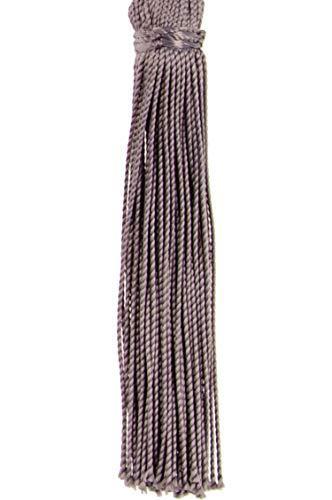 4er Set Orientalische Schlüsselanhänger 18cm (2) | Marokkanische Christbaumschmuck als Dankeschön Geschenke | Quasten mit Schlüsselring als Taschenanhänger Deko Anhänger für Auto Handy Rucksack - 5