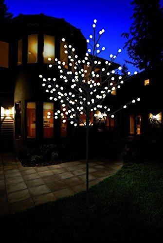 Bonetti LED Lichterbaum mit 200 warm-weißen Lichtern beleuchtet, 150 cm hoch, die Lichterzweige sind flexibel, Weihnachtsbaum mit Lichterkette - 3