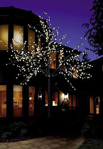 Bonetti LED Lichterbaum mit 500 warm-weißen Lichtern beleuchtet, 220 cm hoch, die Lichterzweige sind flexibel, Weihnachtsbaum mit Lichterkette - 2