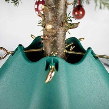 Bosmere G470 Kunststoff Weihnachtsbaum Stand 6ft, 4,75 Zoll Trunk,grün - 2
