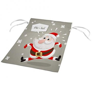 CHEHONG Garten-Flagge, Weihnachtsmann, Weihnachtsmann-Figur, langlebig, für den Außenbereich, Weihnachts-Motiv, Dekoration, Haus-Flagge, Polyester, 28X40 inch - 4