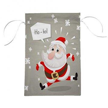 CHEHONG Garten-Flagge, Weihnachtsmann, Weihnachtsmann-Figur, langlebig, für den Außenbereich, Weihnachts-Motiv, Dekoration, Haus-Flagge, Polyester, 28X40 inch - 5