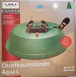 Christbaumständer Aqua, Fußpedal mit Hebelsicherung, mit Wasserbehälter (2.20) - 1