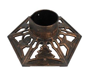 Christbaumständer Gusseisen 9525 bronze - 1