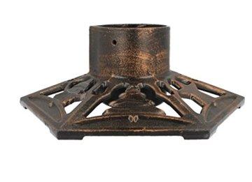 Christbaumständer Gusseisen 9525 bronze - 4