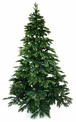 Gartenpirat 210cm BonTree Tanne Weihnachtsbaum Tannenbaum künstlich aus Spritzguss/PVC-Mix - 1