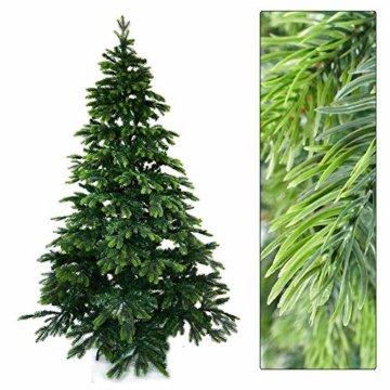 Gartenpirat 210cm BonTree Tanne Weihnachtsbaum Tannenbaum künstlich aus Spritzguss/PVC-Mix - 5