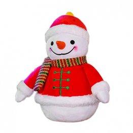 Weesey Weihnachtsgefüllter Schneemann-Plüsch spielt Kinderplüsch-Puppen-Kindergeschenk-Ausgangsverzierungen - 1