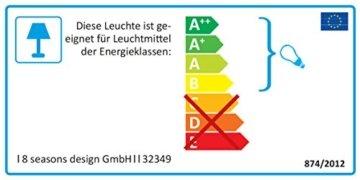 8 seasons design   Dekorative Leuchte Stern Shining Star Mini (E27, Ø 40 cm, für außen & innen: Garten, Balkon, Wohn- & Esszimmer, Kinderzimmer) weiß - 7
