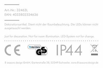 8 seasons design | LED Leuchtender Weihnachtsbaum Shining Tree (113 cm groß, 15 Farben, Farbwechsel, IP44, Weihnachtsdeko für Haus & Garten) - 5