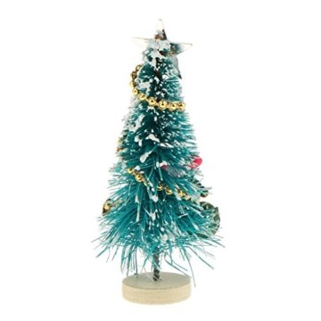 Baoblaze 1/12 Puppenhaus Pupenstuben Mini Weihnachtsbaum für Weihnachten Dekoration - 2