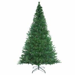 Casaria Weihnachtsbaum 150 cm Ständer künstlicher Tannenbaum Christbaum Baum Tanne Weihnachten Christbaumständer PVC Grün - 1