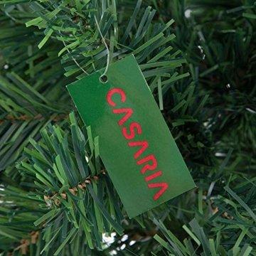 Casaria Weihnachtsbaum 150 cm Ständer künstlicher Tannenbaum Christbaum Baum Tanne Weihnachten Christbaumständer PVC Grün - 9