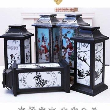 Dasongff Weihnachtskerze mit LED Tee licht Kerzen Teil Auß Hnliche Beleuchtet Adventsschmuck Christbaumkerzen Kabellose für Weihnachtsbaum Weihnachtsdeko Hochzeit - 2