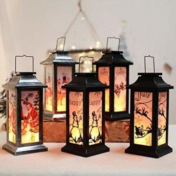 Dasongff Weihnachtskerze mit LED Tee licht Kerzen Teil Auß Hnliche Beleuchtet Adventsschmuck Christbaumkerzen Kabellose für Weihnachtsbaum Weihnachtsdeko Hochzeit - 4