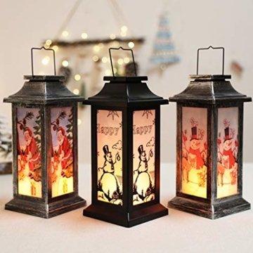 Dasongff Weihnachtskerze mit LED Tee licht Kerzen Teil Auß Hnliche Beleuchtet Adventsschmuck Christbaumkerzen Kabellose für Weihnachtsbaum Weihnachtsdeko Hochzeit - 5