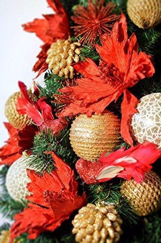 DecoKing Weihnachtsbaum Künstlich 220 cm grün Tannenbaum Christbaum Tanne Lena Weihnachtsdeko - 2