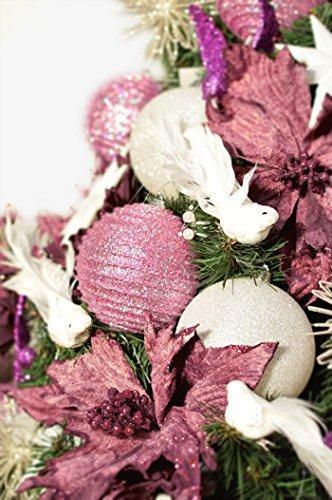 DecoKing Weihnachtsbaum Künstlich 220 cm grün Tannenbaum Christbaum Tanne Lena Weihnachtsdeko - 3