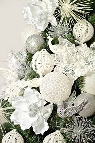 DecoKing Weihnachtsbaum Künstlich 220 cm grün Tannenbaum Christbaum Tanne Lena Weihnachtsdeko - 4