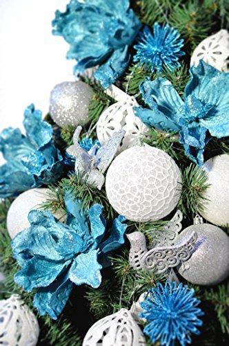 DecoKing Weihnachtsbaum Künstlich 220 cm grün Tannenbaum Christbaum Tanne Lena Weihnachtsdeko - 5