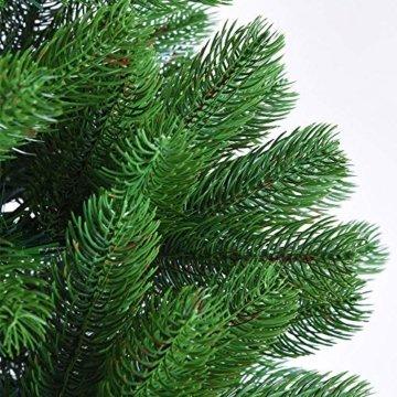 Deuba Weihnachtsbaum 180 cm Ständer Spritzguss künstlicher Tannenbaum Christbaum Baum Tanne Edeltanne Christbaumständer PE - 2