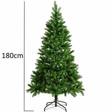 Deuba Weihnachtsbaum 180 cm Ständer Spritzguss künstlicher Tannenbaum Christbaum Baum Tanne Edeltanne Christbaumständer PE - 4