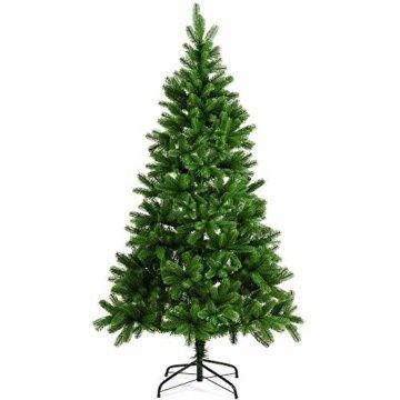 Deuba Weihnachtsbaum 180 cm Ständer Spritzguss künstlicher Tannenbaum Christbaum Baum Tanne Edeltanne Christbaumständer PE - 1