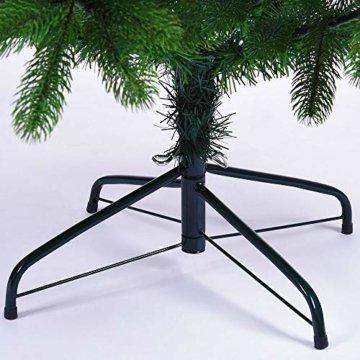Deuba Weihnachtsbaum 180 cm Ständer Spritzguss künstlicher Tannenbaum Christbaum Baum Tanne Edeltanne Christbaumständer PE - 7