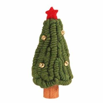 Fdit Mini Weihnachtsbaum Innenweihnachtsdekorations Weihnachtsdekorativer Baum für Einkaufszentrum Rezeption Weihnachtsdekoration(5#) - 1