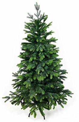 Gartenpirat 150cm cm BonTree Tanne Weihnachtsbaum Tannenbaum künstlich aus Spritzguss/PVC-Mix - 1