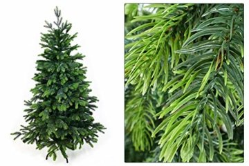 Gartenpirat 150cm cm BonTree Tanne Weihnachtsbaum Tannenbaum künstlich aus Spritzguss/PVC-Mix - 4