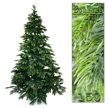 Gartenpirat 150cm cm BonTree Tanne Weihnachtsbaum Tannenbaum künstlich aus Spritzguss/PVC-Mix - 5