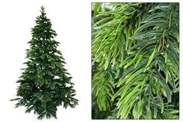Gartenpirat 180cm BonTree Tanne Weihnachtsbaum Tannenbaum künstlich aus Spritzguss/PVC-Mix - 6