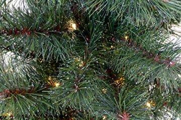 Gartenpirat Weihnachtsbaum Tanne 60 cm beleuchtet 25 LED Deko Christbaum Tannenbaum - 3
