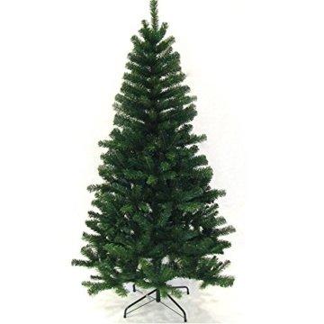 Hengda® 180 cm Hoch Einzigartiger Künstlicher Weihnachtsbaum Baum Dekobaum Kunstbaum mit Ständer Christbaum - 1