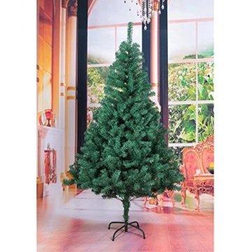 Hengda® 180 cm Hoch Einzigartiger Künstlicher Weihnachtsbaum Baum Dekobaum Kunstbaum mit Ständer Christbaum - 5
