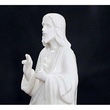 HJIKM Statue Dekoration Familienstatue Jesus Krippe Figur Dekorative Figuren Kunst & Handwerk Home Dekoration Zubehör - 7